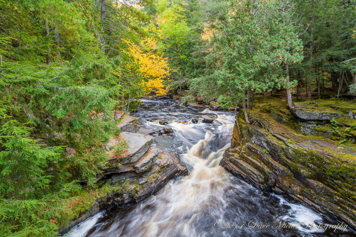 Canyon Falls And Gorge Michigan S Up 2017 Dave Michel Photography